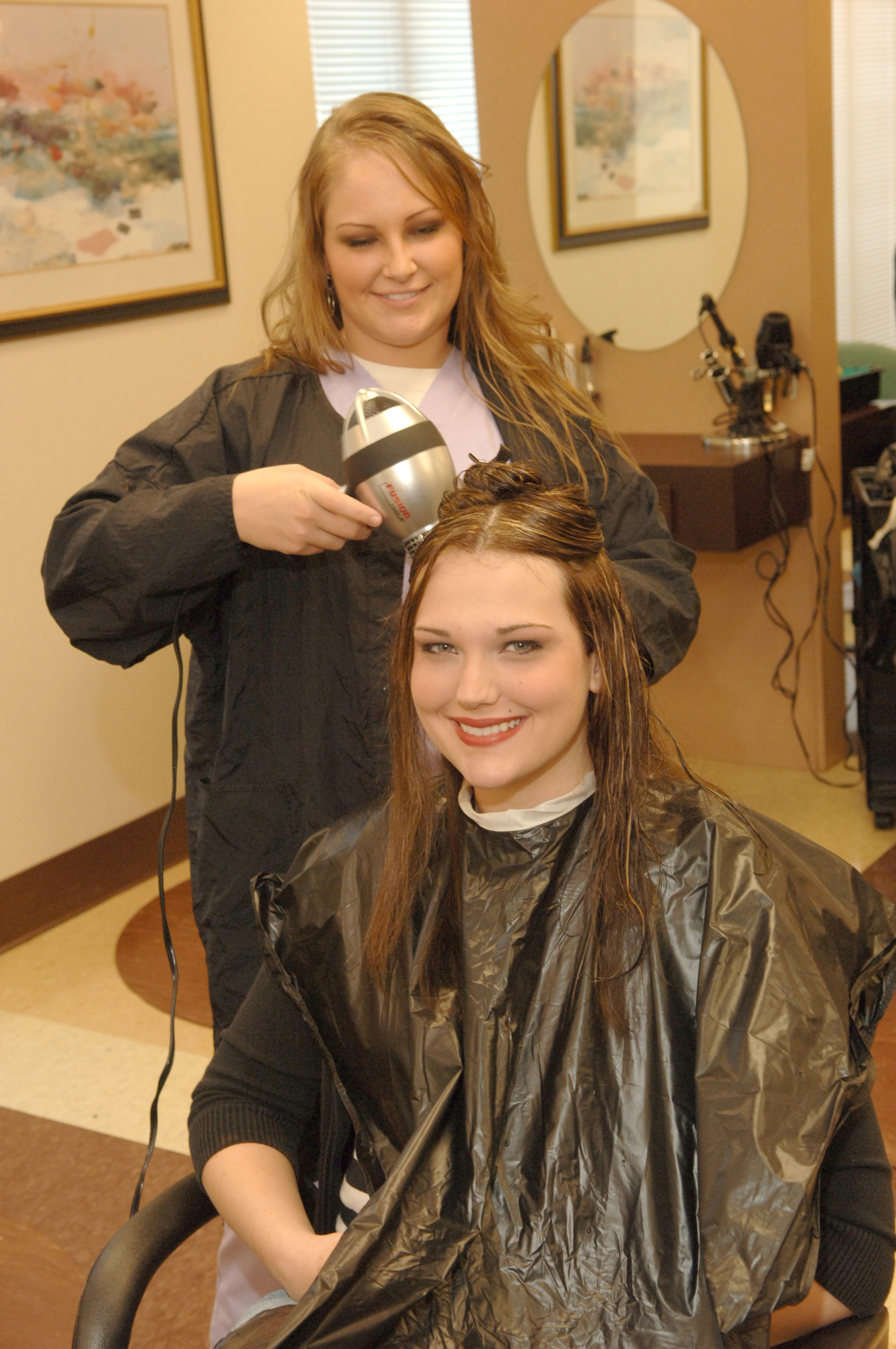 WGTC Cosmetology students