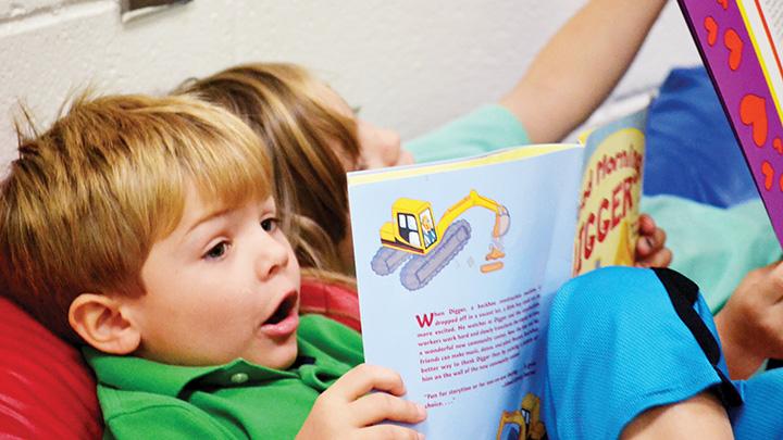 boy reading FERST