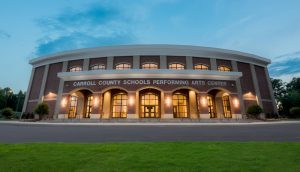 Carroll County Schools Performing Arts Center<br><br><i>Connects our students and community with a broad range of Fine Arts programs</i>