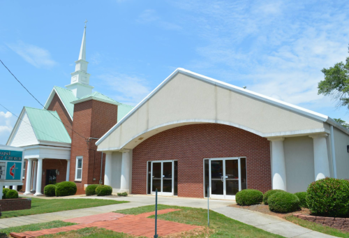 Church Improvement<br><br><i>African American churches in Carroll County, Georgia</i><br>