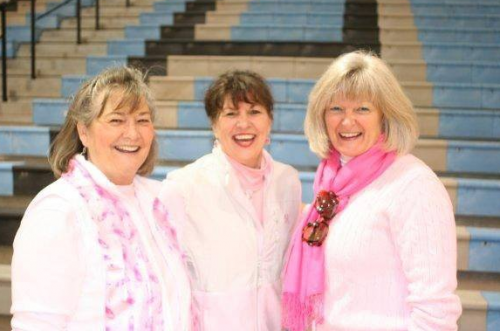 Pink Posse<br><br><br><i>Helping local people undergoing treatment for all types of cancer</i>